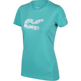 Regatta Fingal V T-Shirt Dames, turquoise